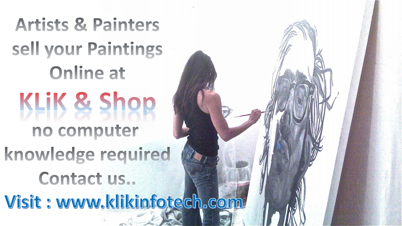 Sell your Paintings & Art works Online, no computer knowledge required…