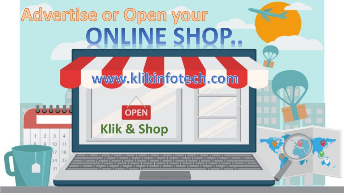 Open your Online Shop..Without any Computer Knowledge…contact us